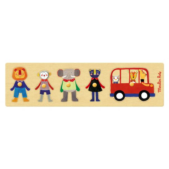 Le puzzle du bus