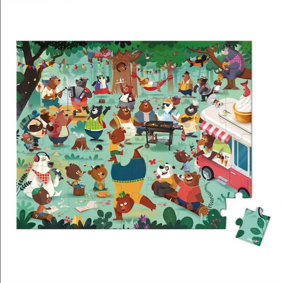 Puzzle - La cousinade des Ours