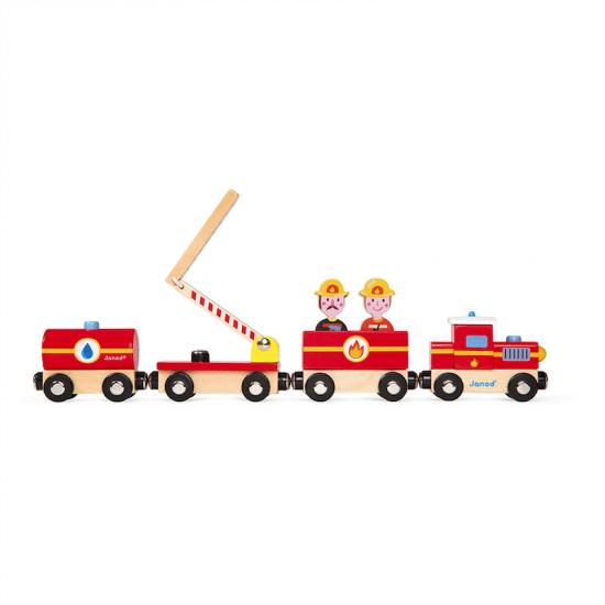 Train pompiers Story