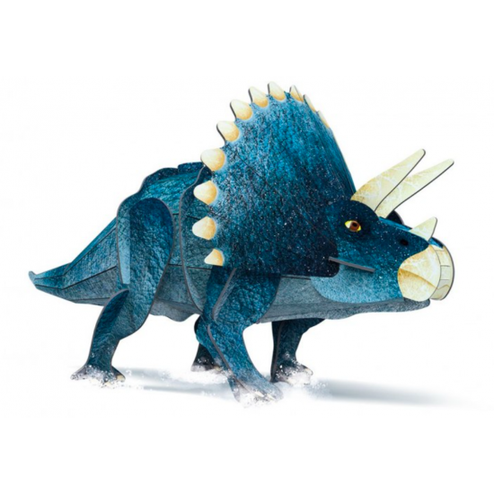Le tricératops 3D - L'ère...