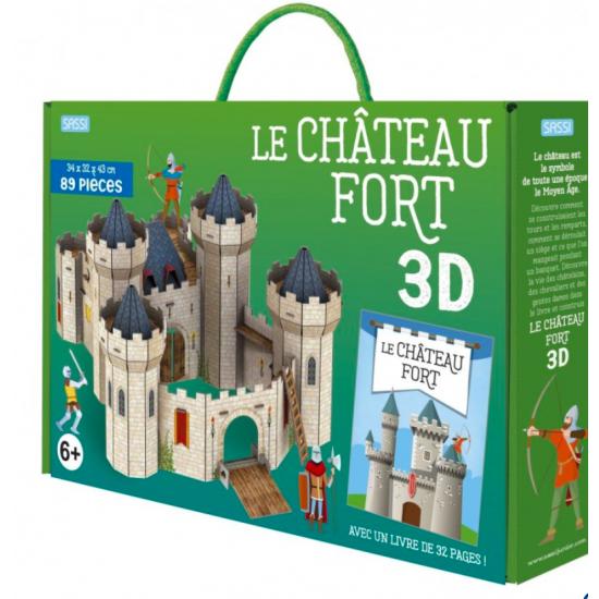 Le Château fort - 3D