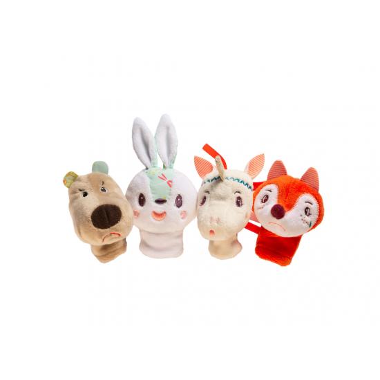 Marionnettes à doigts Forêt