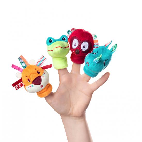 Marionettes à doigts Jungle