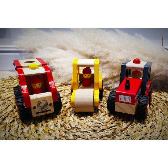 Tracteur en bois