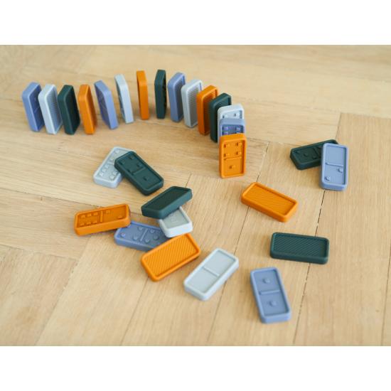Dodo domino - Bleu