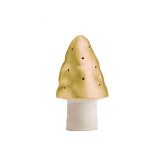 Lampe Petit Champignon - Doré