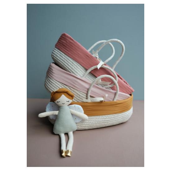 Couffin pour poupées - Mauve