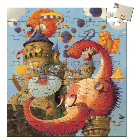 Puzzle Silhouette 54 pcs -...