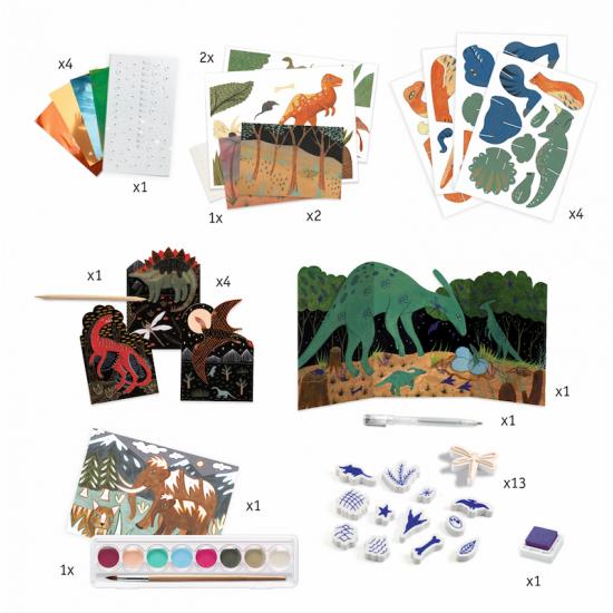 Dino Box - Activités créatives