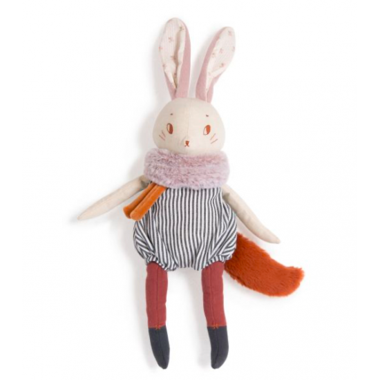 Grand lapin Plume - Après...