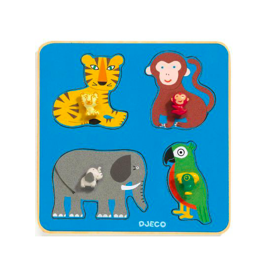 Puzzle Family Jungle