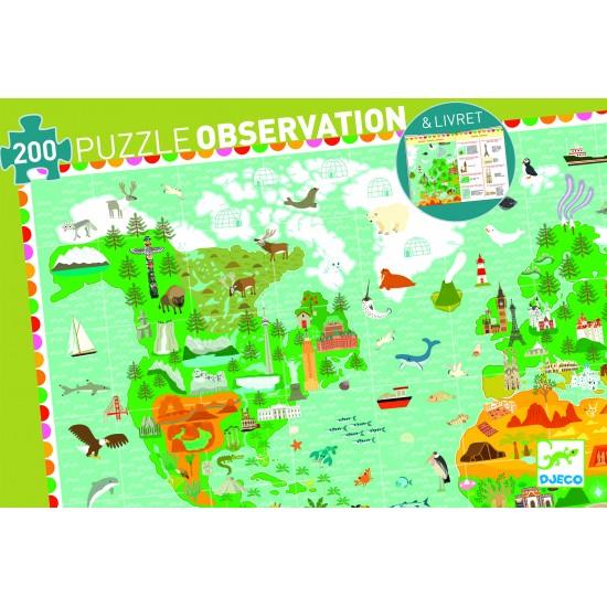 """Puzzle Observation """"Tour du..."""