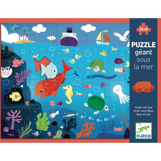 Puzzle géant 24 pièces -...