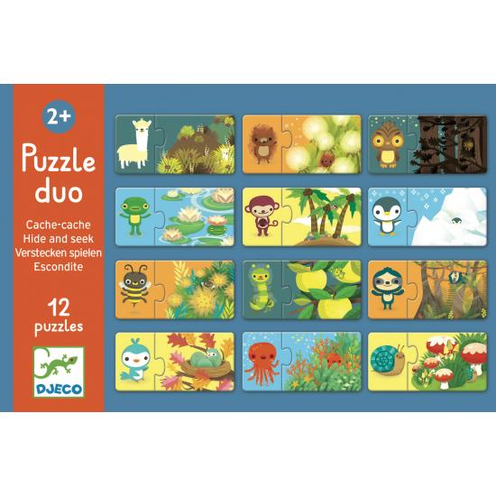 Puzzle Duo - Cache-cache