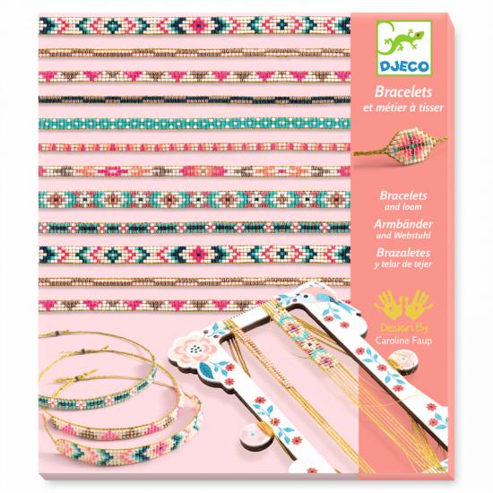 Bracelets et métier à tisser