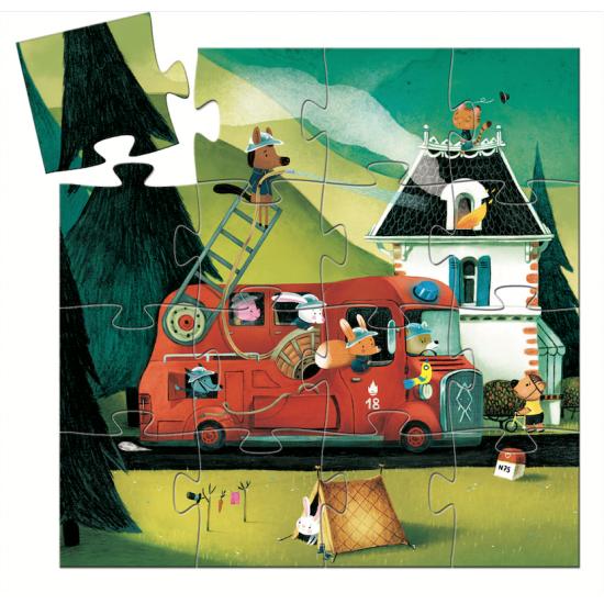 """Puzzle """"Le camion de pompier"""""""