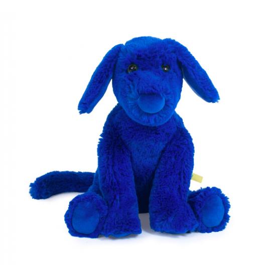Peluche Chien Bleu