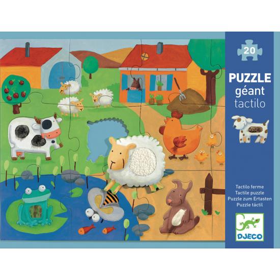 Puzzle Géant Tactiloferme