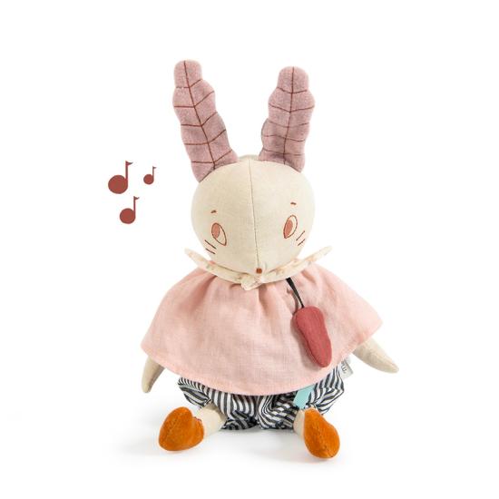 Poupée musique lapin -...