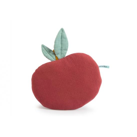 Coussin pomme - Après la pluie