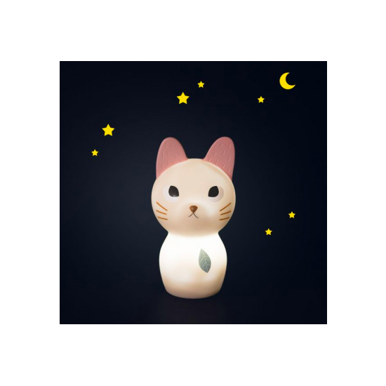 Veilleuse chat - Après la...