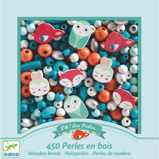 """450 Perles en bois """"Petits..."""