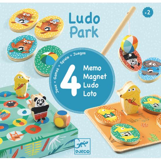 """Ludo Park """"4 jeux"""""""