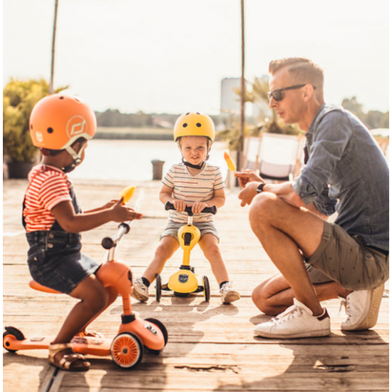 Scoot and ride - jaune citron