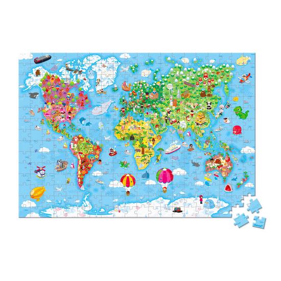 Valise puzzle géant du...