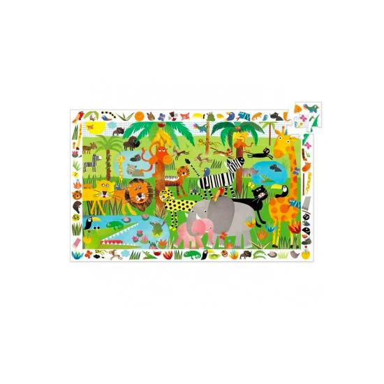 La jungle - Puzzle...