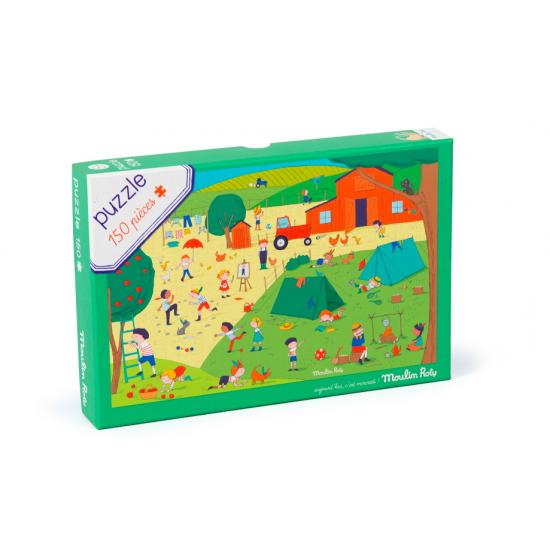 Puzzle à la campagne - 150 pcs