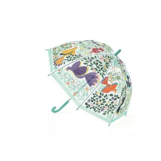 Parapluie - Fleurs & oiseaux
