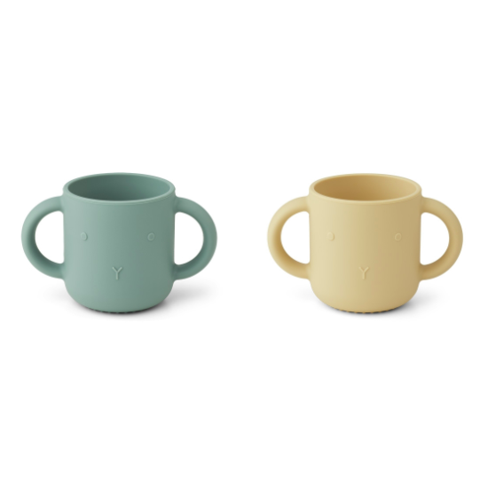 Lot de 2 tasses silicone...