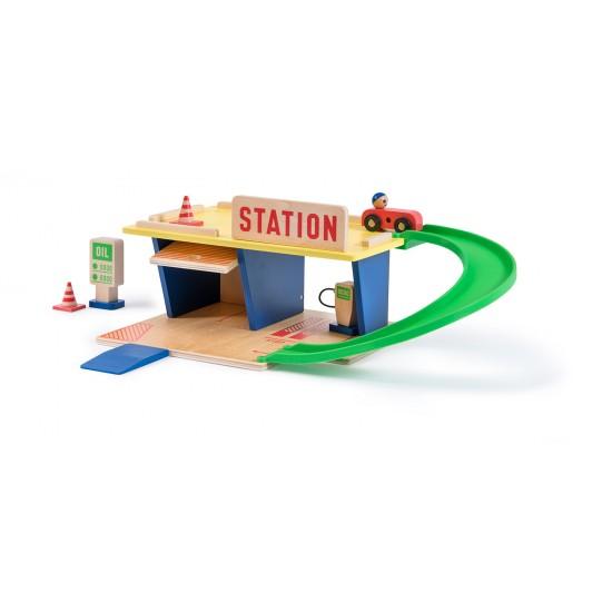 "La Station Service ""Dans la..."