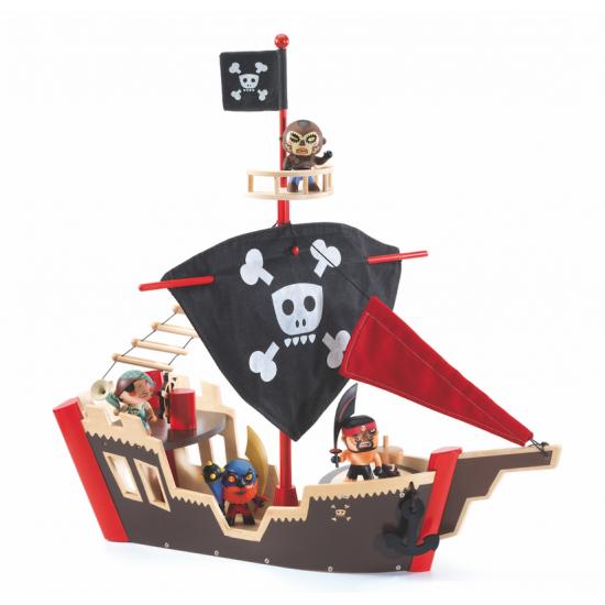 """Arty Toys """"Ze Pirat Boat"""""""