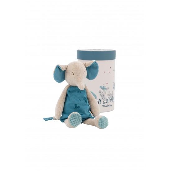 Poupée éléphant Bergamote...