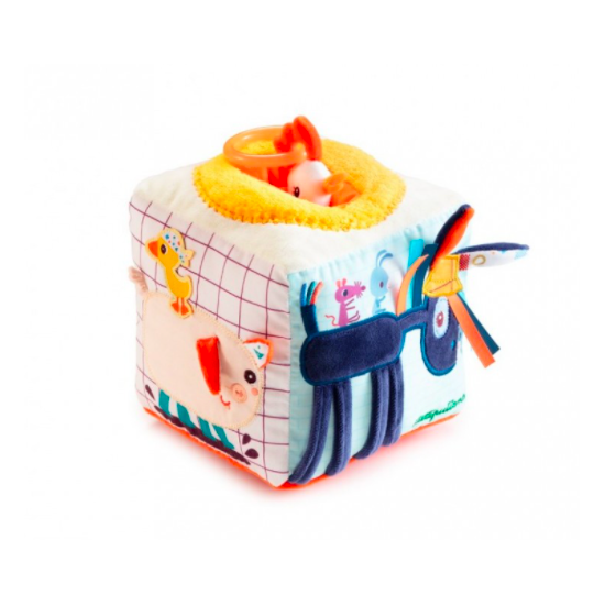 Cube sonore d'activité ferme