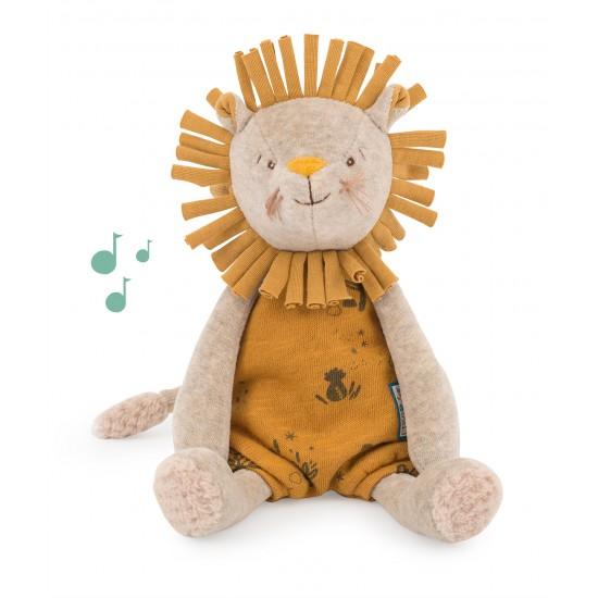 """Poupée musique lion """"Sous..."""