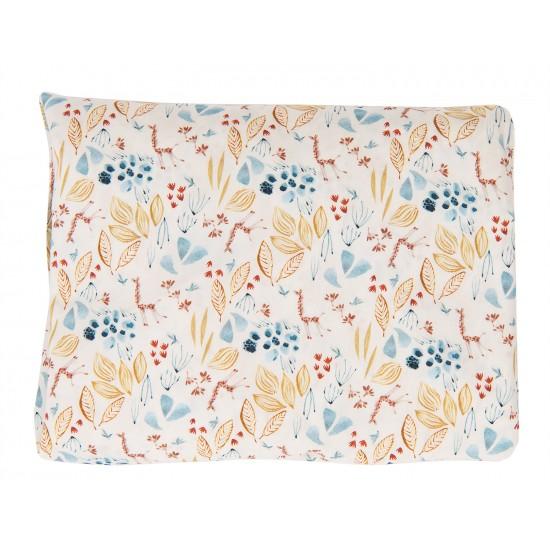 Drap housse motif floral...