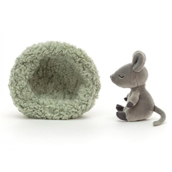 Doudou souris qui hiberne