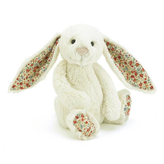 Doudou lapin blossom cream...