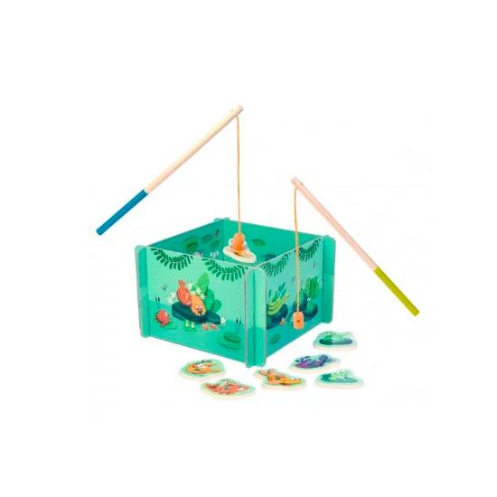 Jeu de pêche - Dans la jungle