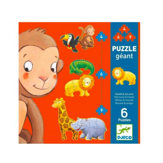 Puzzle Géant - Ouistiti &...