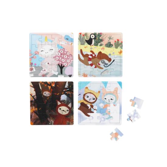 Puzzles 16 pcs - Les 4 saisons
