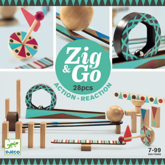 Zig et Go - 28 pièces