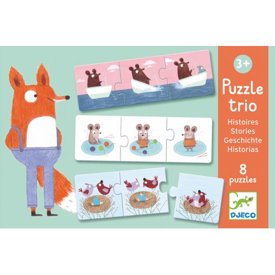 Puzzle trio histoires