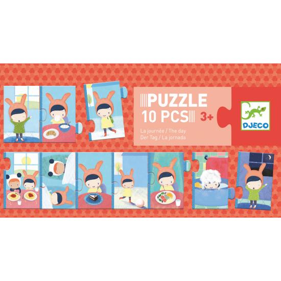 Puzzle 10 pièces - la journée