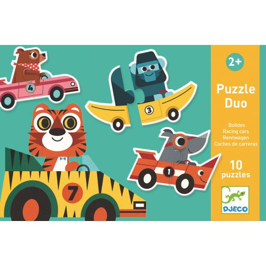 Puzzle duo - les bolides