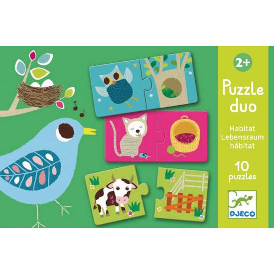 Puzzle Duo - Habitat
