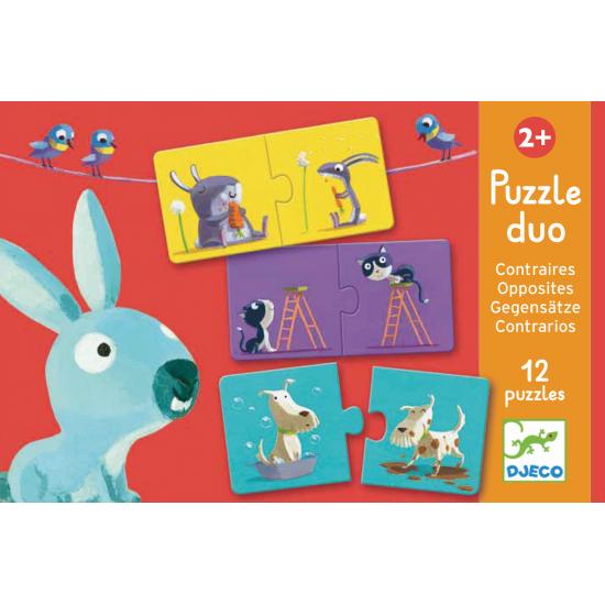Puzzle duo les contraires
